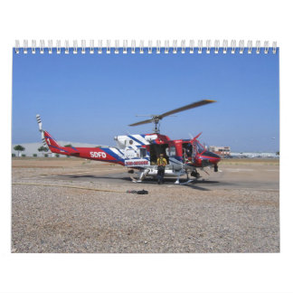 SDFD Helicopter Wall Calendars
