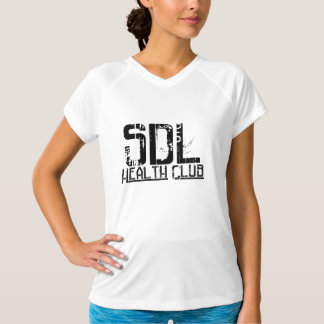 SDLHC - SportTek Performance Fitted V T-Shirt