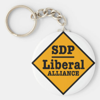 SDP Liberal Alliance Sign Key Chains