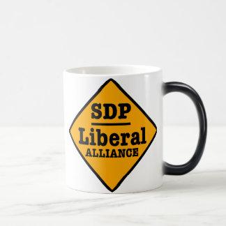 SDP Liberal Alliance Sign Magic Mug