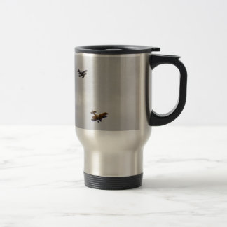 SE5A And Sopwith Camel Models 15 Oz Stainless Steel Travel Mug