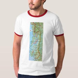 SE Alaska map T-Shirt