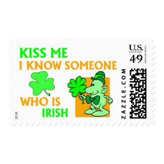 Sé alguien que es irlandés sello