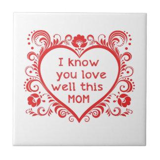 Sé amor de u este mam teja