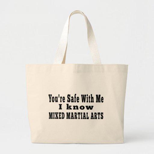 Sé artes marciales mezclados bolsa