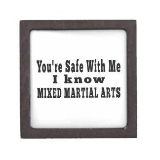 Sé artes marciales mezclados caja de regalo de calidad