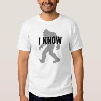 Sé (Bigfoot existe) la camiseta Playera