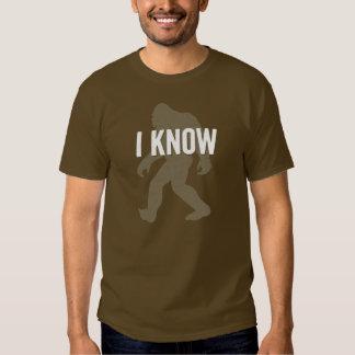 Sé (Bigfoot existe) la camiseta Playeras