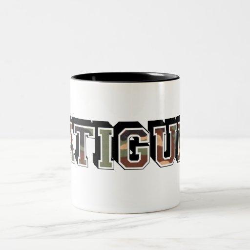 se cansa taza de café