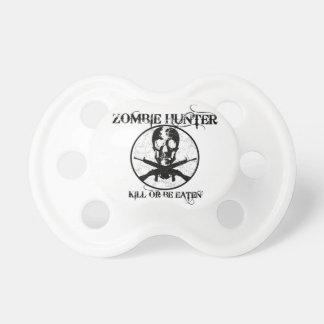 Se coma la matanza del cazador del zombi… o chupetes para bebés