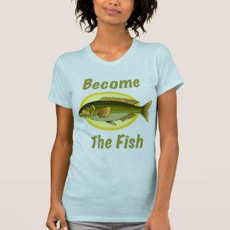 Se convierte la camiseta de las mujeres de los pes