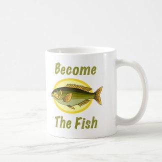 Se convierte la taza de los pescados