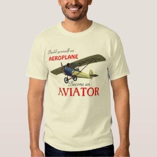 ¡Se convierte un aviador! Playera