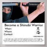 Se convierte un guerrero de Shinobi, W… Poster