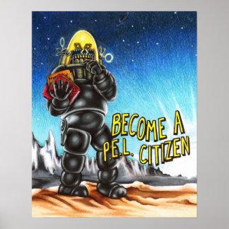 Se convierte un poster del ciudadano del PEL