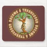 Se convierte un Treehugger Alfombrillas De Ratones