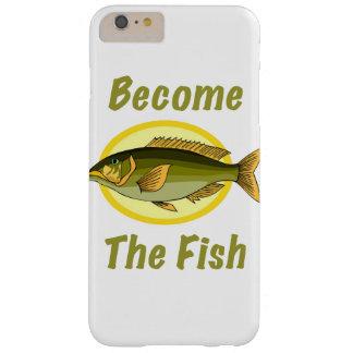 Se convierten los pescados funda barely there iPhone 6 plus