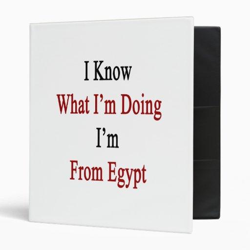 """Sé cuál soy haciendo yo soy de Egipto Carpeta 1"""""""
