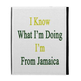 Sé cuál soy haciendo yo soy de Jamaica
