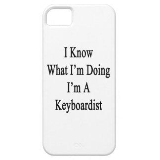 Sé cuál soy haciendo yo soy teclista iPhone 5 coberturas
