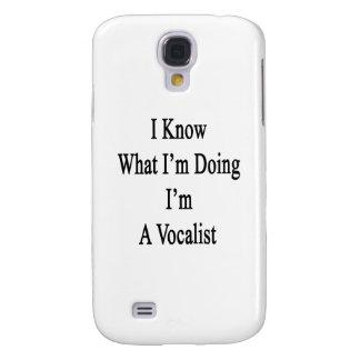 Sé cuál soy haciendo yo soy vocalista