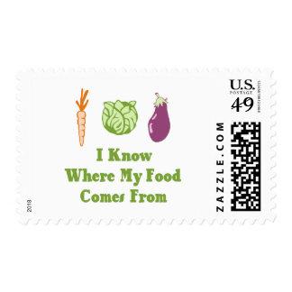 Sé de adónde mi comida viene envio