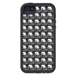 SE del iPhone, pandas gigantes B&W del arte pop Funda Para iPhone SE/5/5s