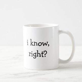 ¿sé, derecho? taza