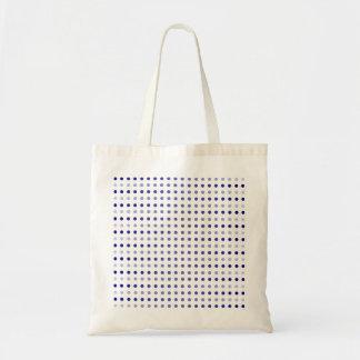 Se descolora el bolso lejos punteado bolsa tela barata