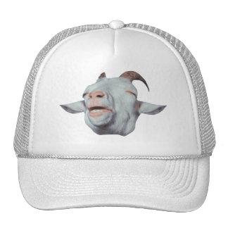 Se descolora la cabra feliz gorras