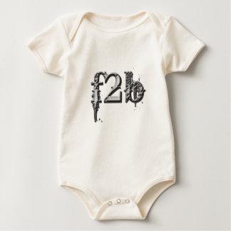 Se descolora la enredadera orgánica negra 2 traje de bebé