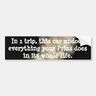 ¡Se deshace el Prius! Pegatina Para Auto