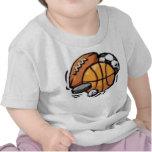 Se divierte bolas camiseta