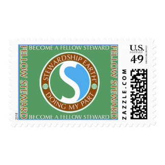 """SE_""""Doing MY Part"""" (H) Postage Stamp"""