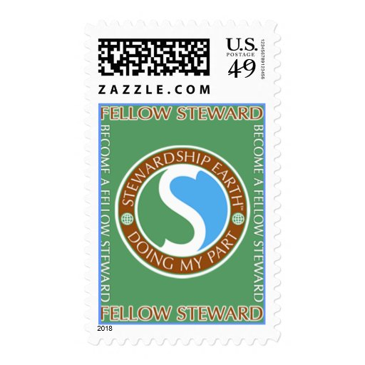 """SE_""""Doing MY Part"""" (V) Stamp"""