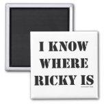 Sé donde está Ricky Iman De Frigorífico
