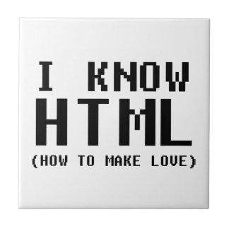 Sé el HTML Azulejo Cuadrado Pequeño