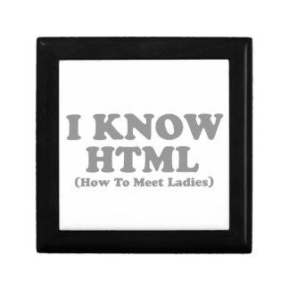 Sé el HTML Cajas De Recuerdo