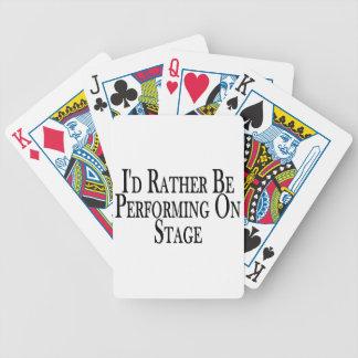 Se esté realizando bastante en etapa barajas de cartas