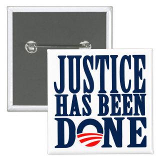Se ha hecho la justicia muerta de Bin Laden Pin