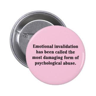 Se ha llamado la anulación emocional… pin redondo de 2 pulgadas