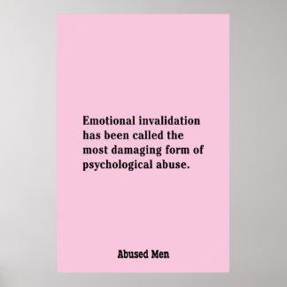 Se ha llamado la anulación emocional… póster