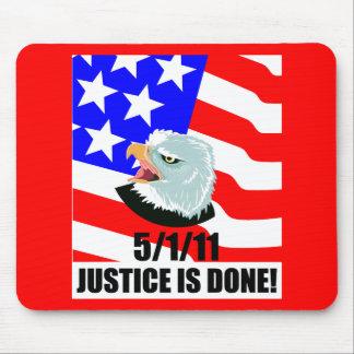 Se hace la justicia tapetes de ratones