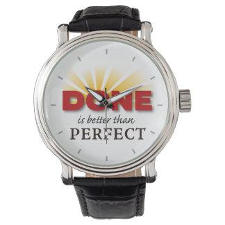 Se hace mejor que perfecto relojes de pulsera