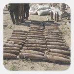 Se identifican los aparatos explosivos e calcomania cuadrada personalizada