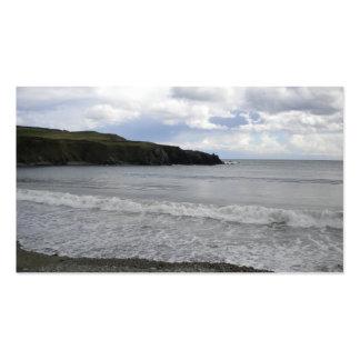 SE Irlanda de la playa de Bunmahon Tarjeta De Visita