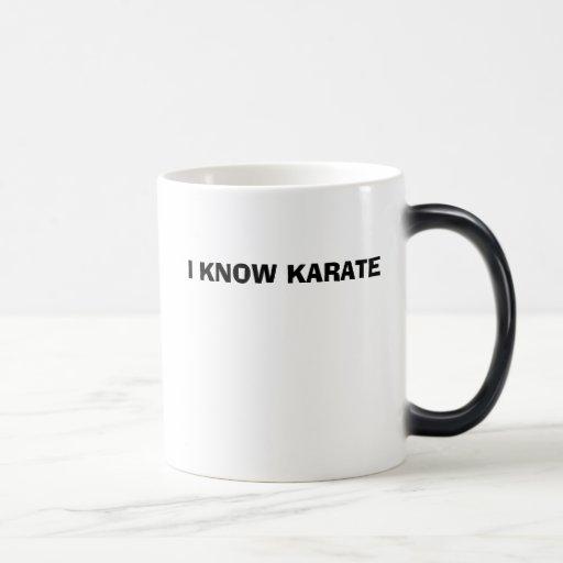 SÉ KARATE TAZA DE CAFÉ