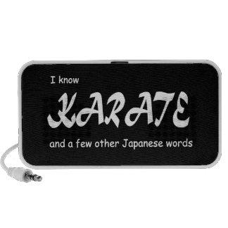 Sé karate y otras palabras del japonés. Divertido Mini Altavoces