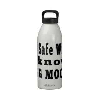 Sé la gama del MOO de Chungkin Botellas De Agua Reutilizables