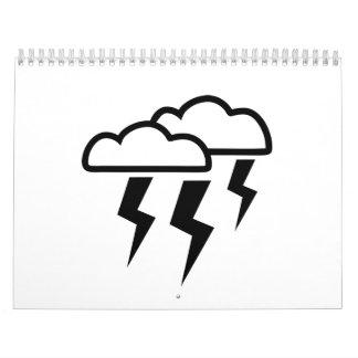 Se nubla el relámpago calendarios